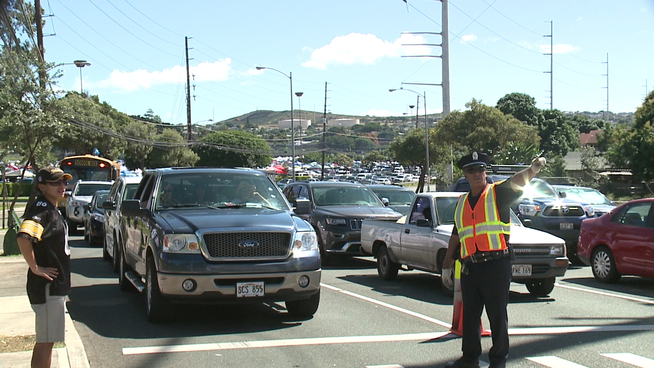 pro bowl aloha stadium traffic_141145