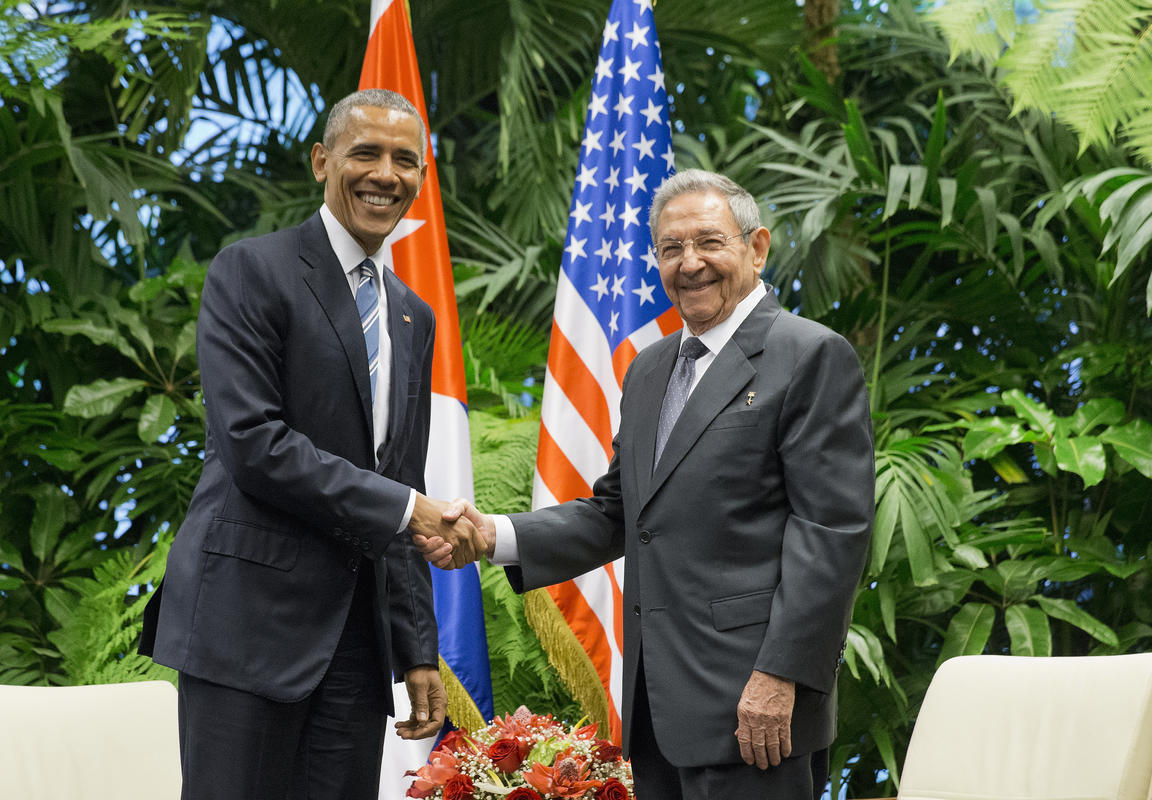 Barack Obama, Raul Castro_148741