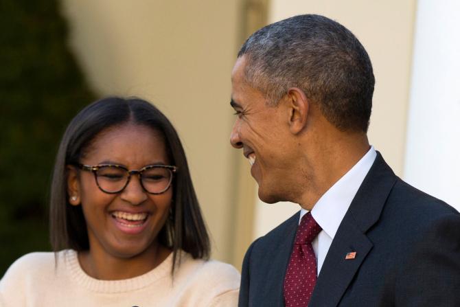 Barack Obama, Sasha Obama_146159