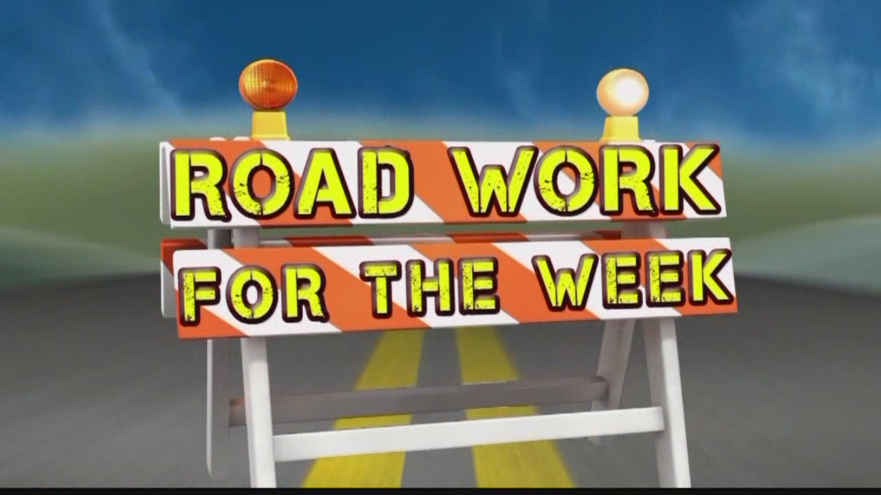 Road Work for the Week: April 3-8