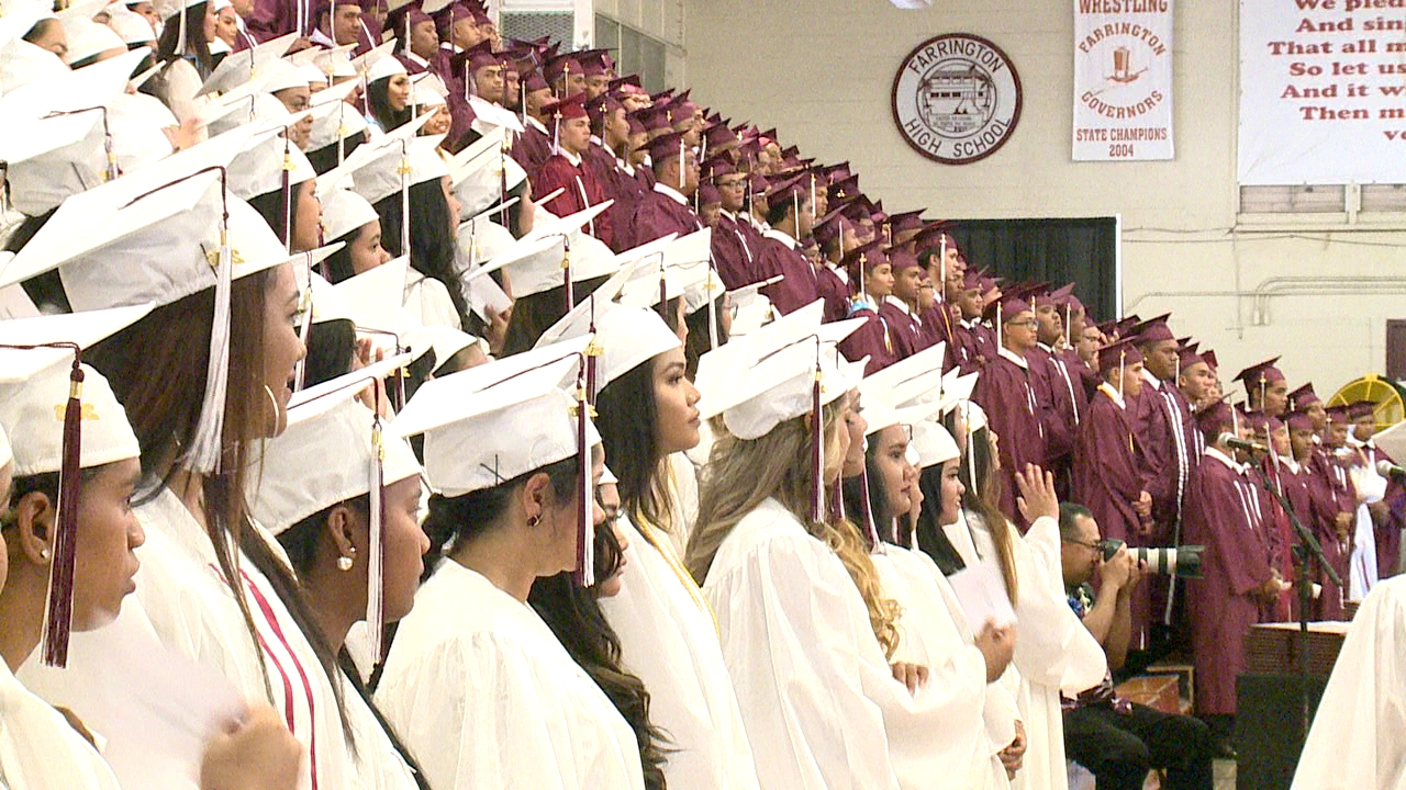 Farrington High School graduation_158363