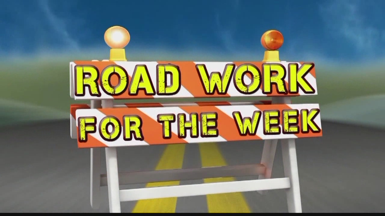 Road Work for the Week, June 5-9