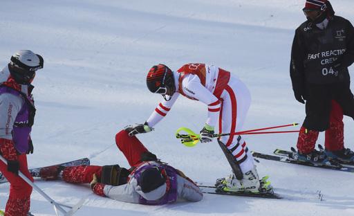 Pyeongchang Olympics Alpine Skiing_242054