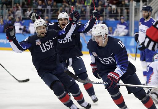 APTOPIX Pyeongchang Olympics Ice Hockey Men_241992