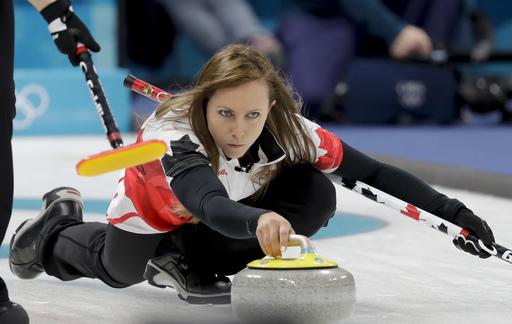 Pyeongchang Olympics Curling Women_242050