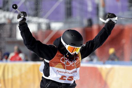 Pyeongchang Olympics Freestyle Skiing Women_242224