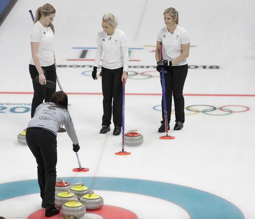 Pyeongchang Olympics Curling Women_242851