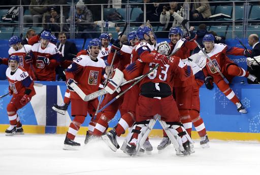 APTOPIX Pyeongchang Olympics Ice Hockey Men_242911