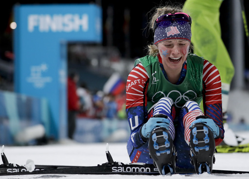 APTOPIX Pyeongchang Olympics Cross Country Women_242923