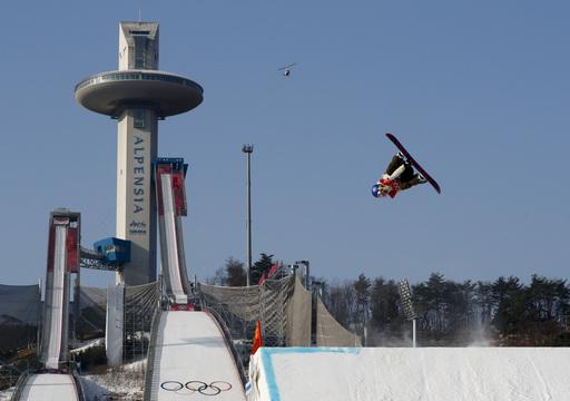 Pyeongchang Olympics Snowboard Wonmen_243080