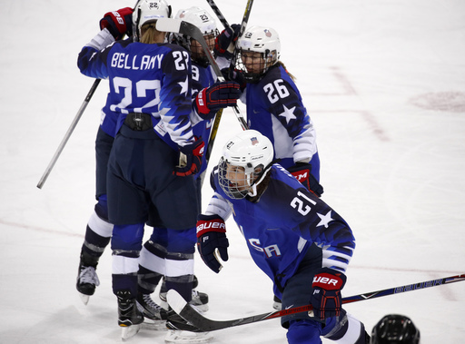 Pyeongchang Olympics Ice Hockey Women_243081