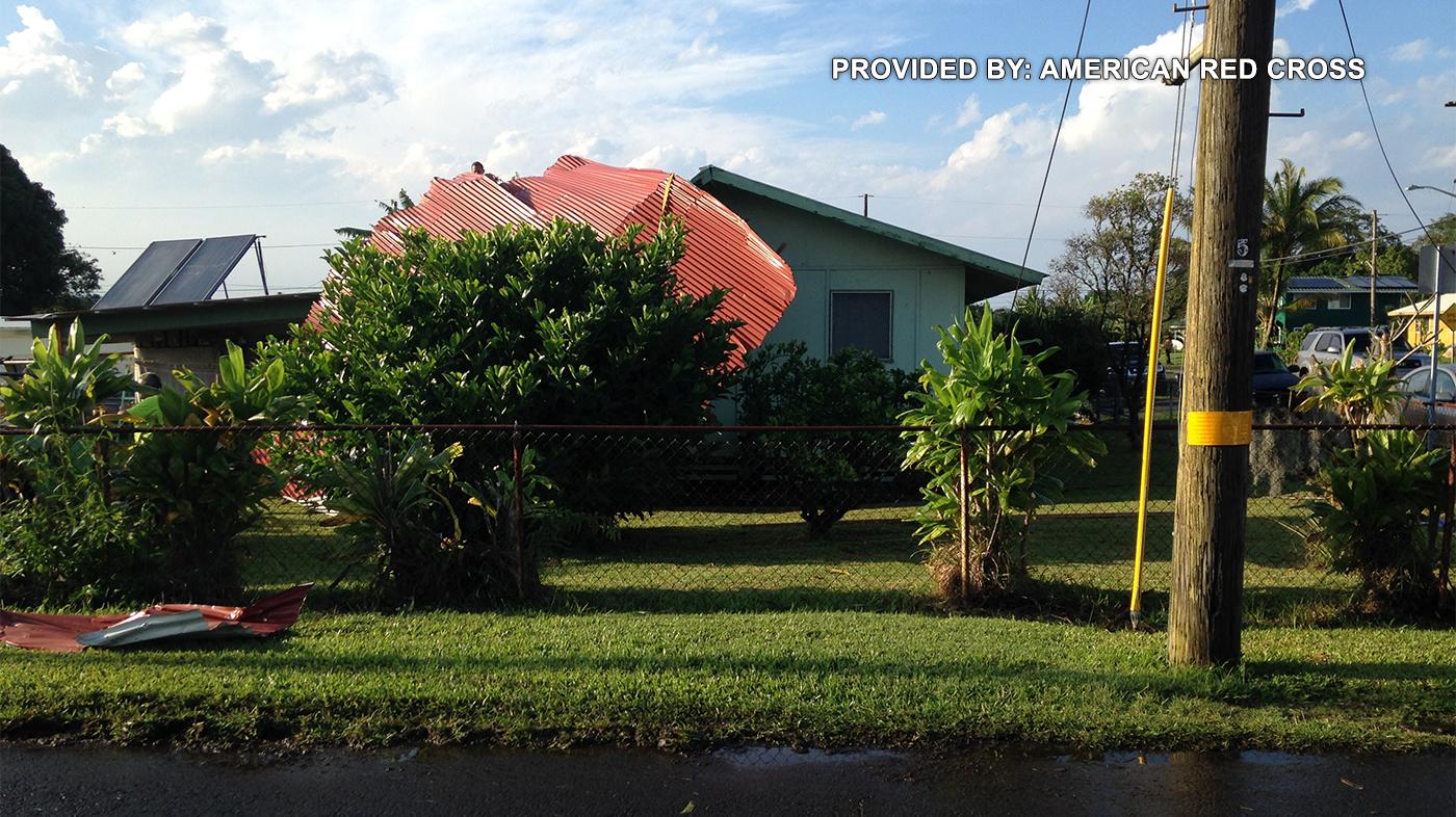 Hawaii island storm damage American Red Cross resized