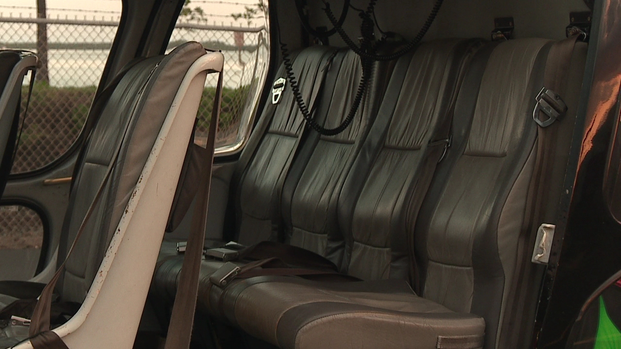 helicopter tour seat belts safety
