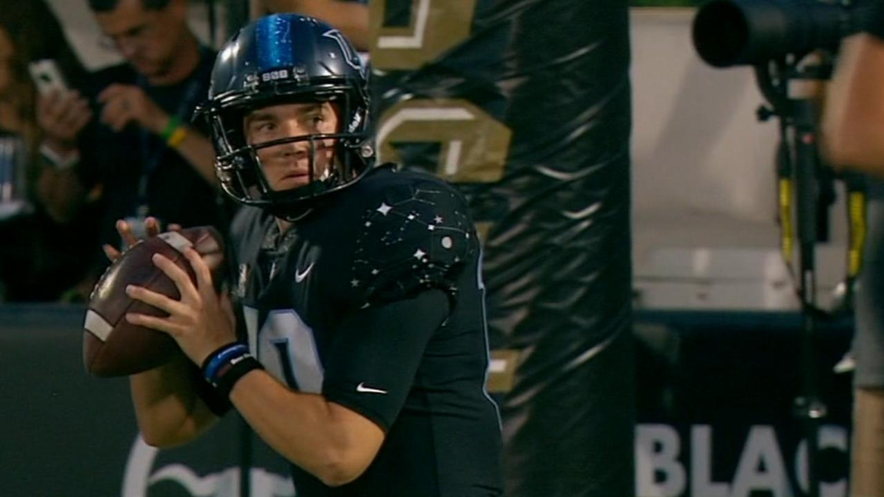 huge discount 2d67f 44c00 Milton family provides an update on UCF QB, Hawaii native ...