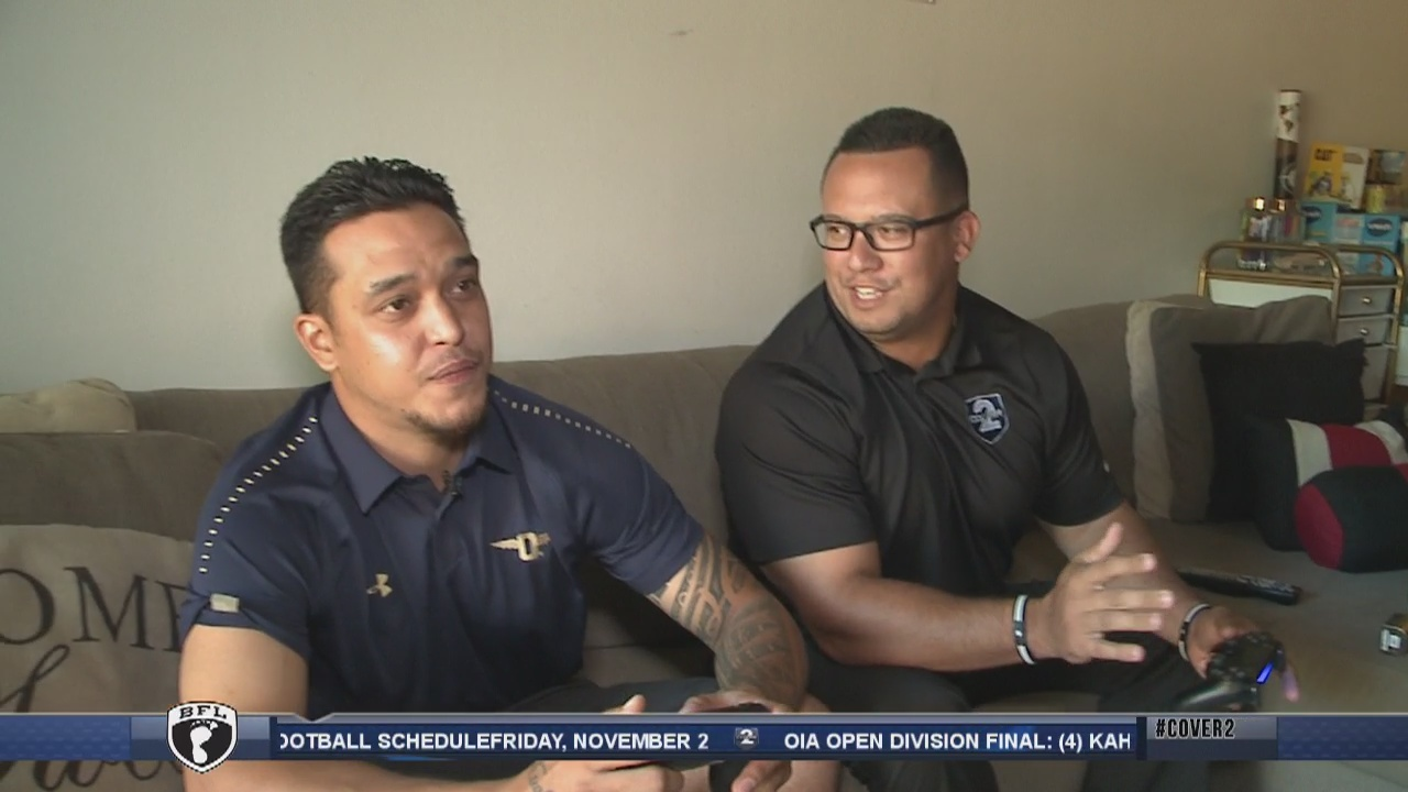 On the Road with Punahou receivers coach Miah Ostrowski