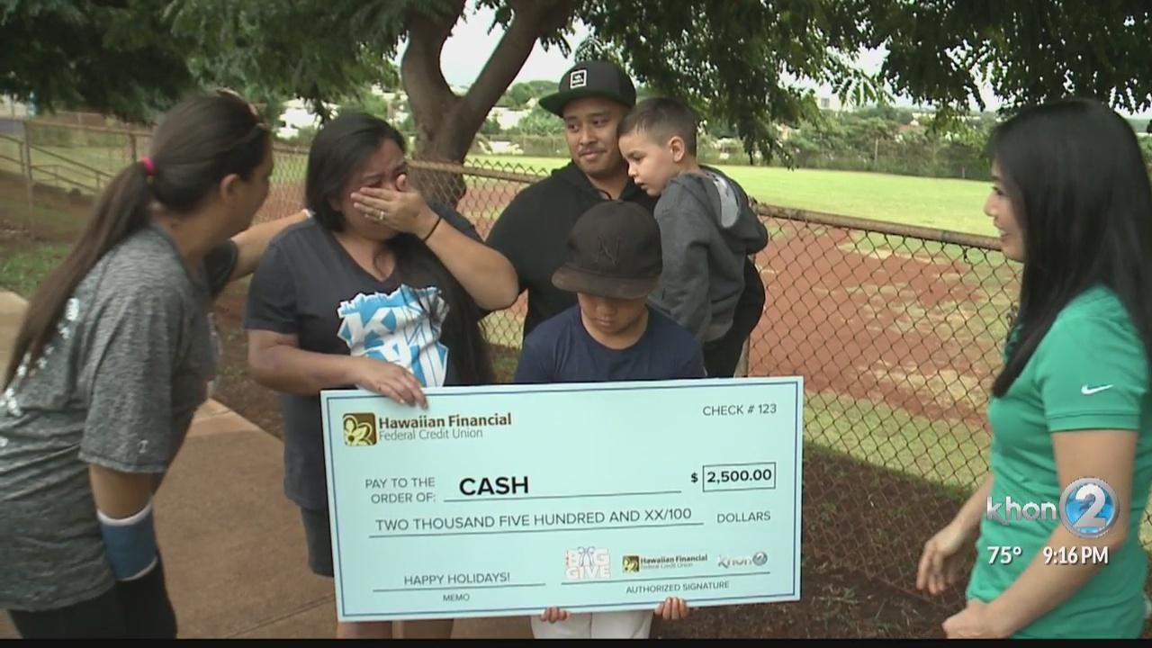 The Big Give Rivera Family
