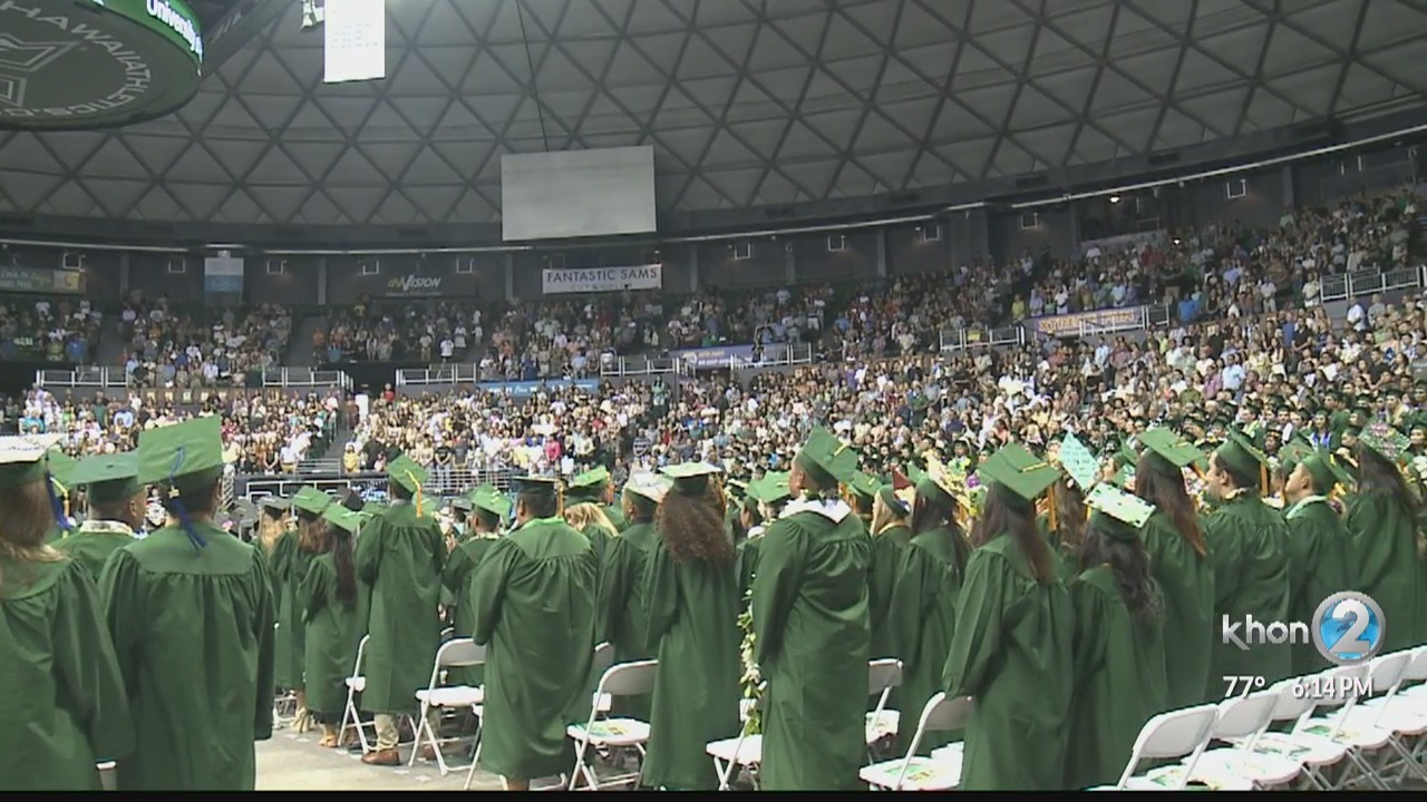 Graduation rates at UH Manoa at an all time high