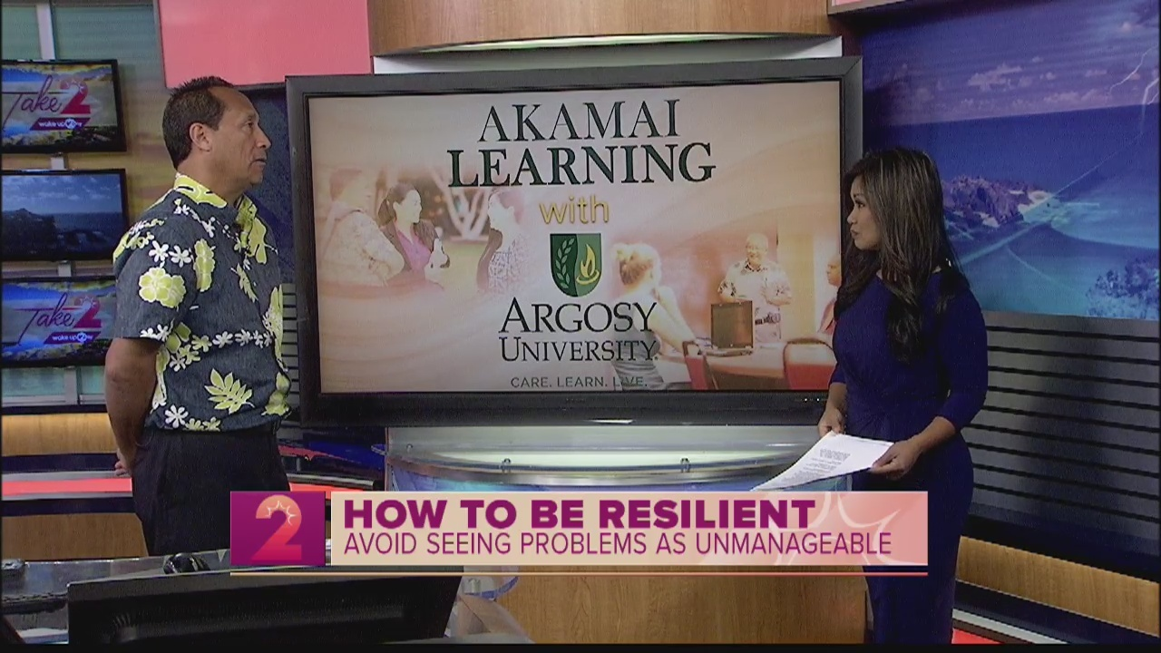 Argosy University Officials Offers Tips on Resiliency