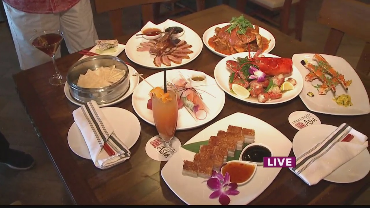 Celebrating Chinese New Year at Morimoto Asia Waikiki