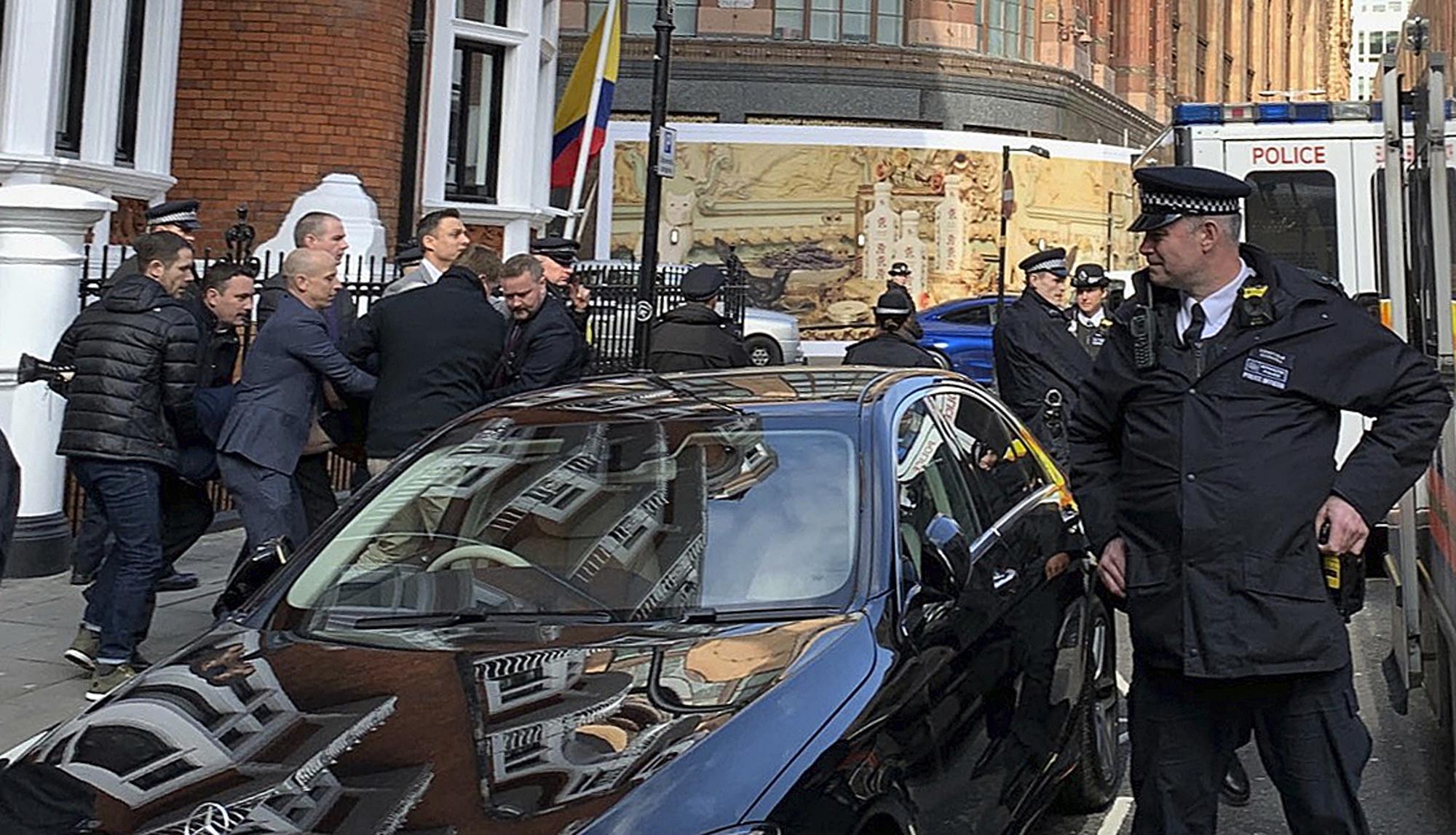 Britain Wikileaks Assange Arrested_1554994912048