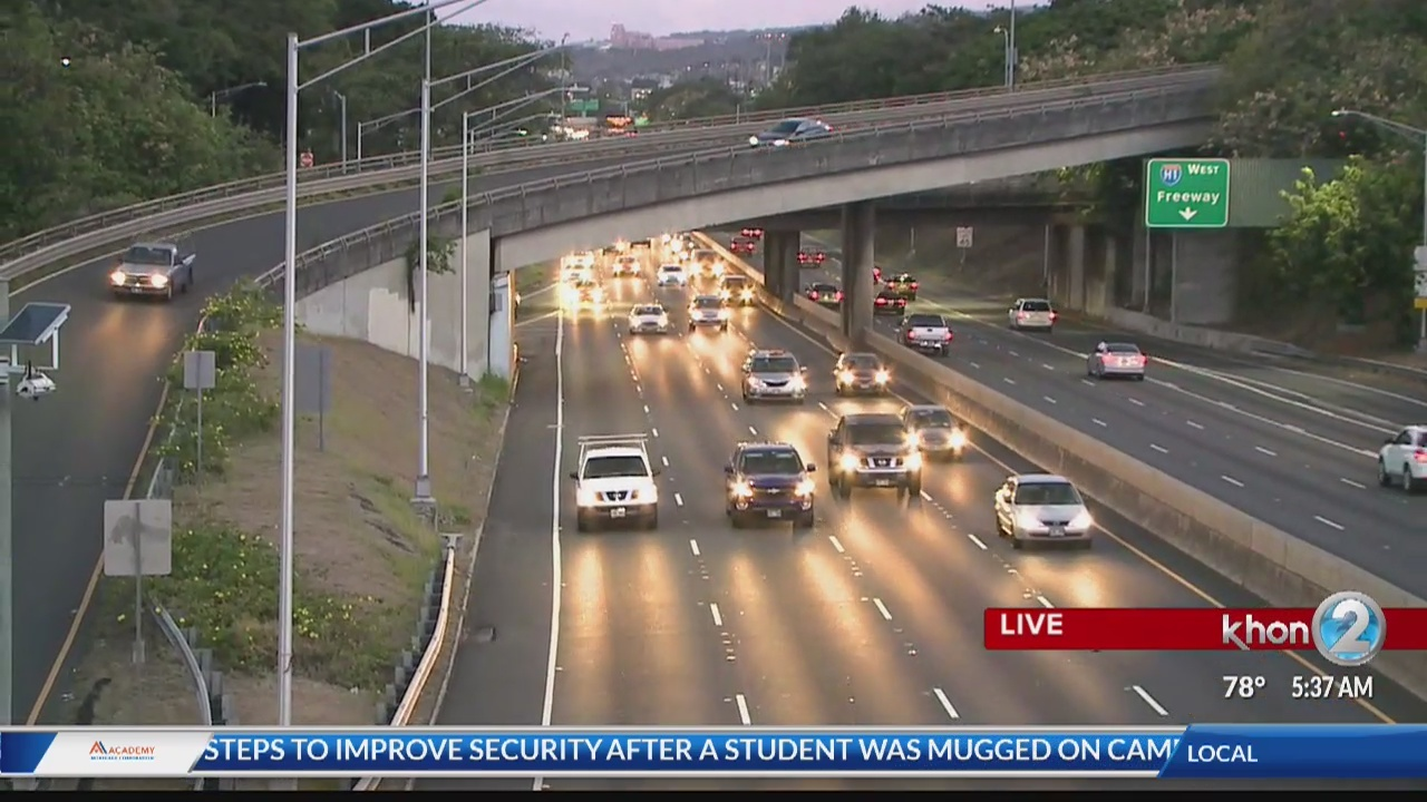 Road closures to expect on the H-1 Freeway
