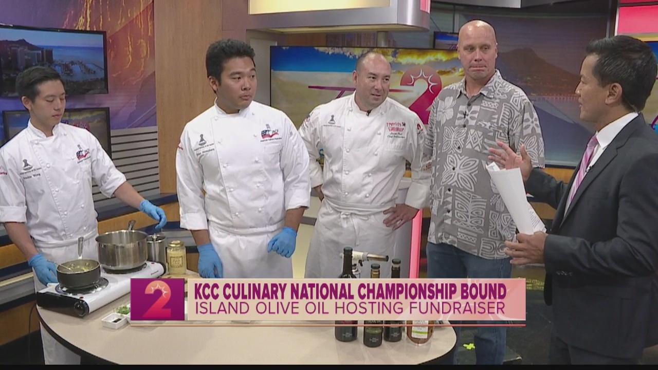 Take 2:KCC Culinary Team Live Demo & Tasting at Ward Center