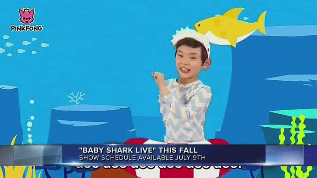 """""""Baby Shark Live"""" coming this fall"""