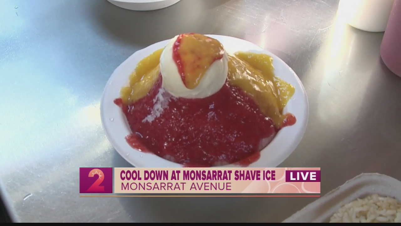 Cool down at Monsarrat Shave Ice