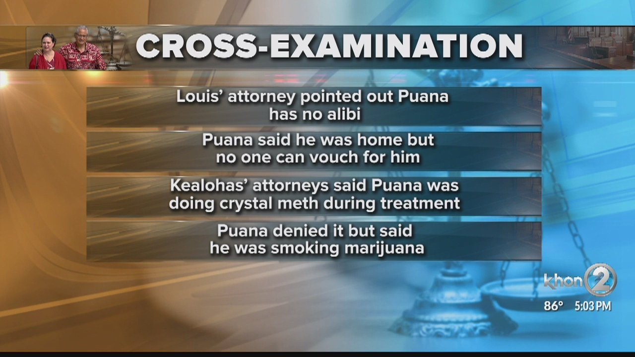 Kealoha Trial: Gerard Puuana back on stand