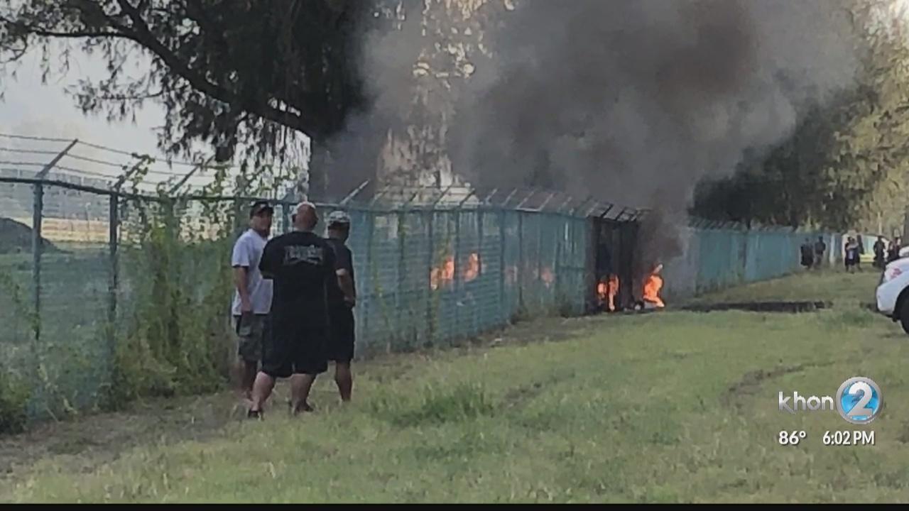 Witnesses recall Mokuleia plane crash