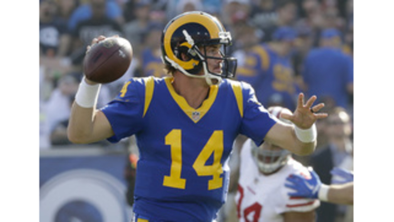 newest 32f95 d78f7 Rams listen to fans, increase use of blue-and-yellow jerseys ...