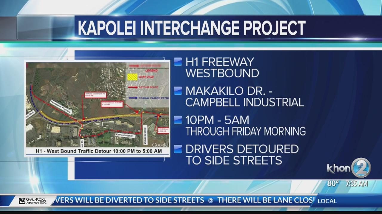 Kapolei Interchange Project | KHON2