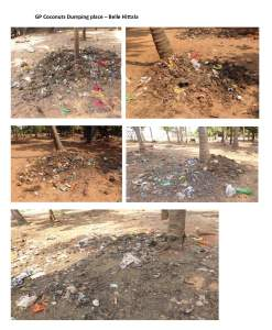 GP Coconuts Dumping place – Belle Hittala