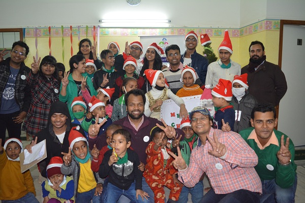 Khushiyan Christmas celebration at St Judes Noida Center