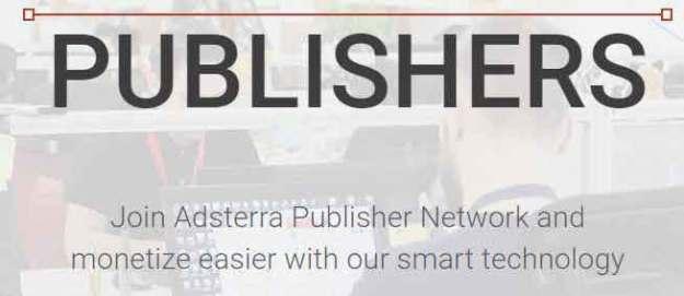 এ্যডসেন্স এর বিকল্প হিসেবে adsterra-network একটি দারুন এ্যড নেটওয়ার্ক