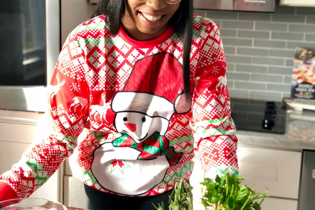 Cooking with Kia Ugly Sweater Party!