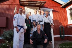 Line up afte Bujutsu camp