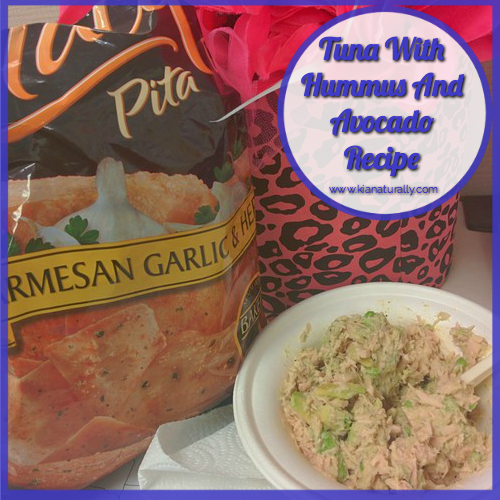Tuna With Hummus and Avocado Recipe - www.kianaturally.com