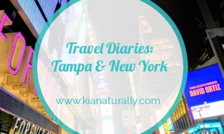 Travel Diaries: Tampa and New York