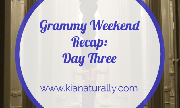 Grammy Weekend Recap – Day 3