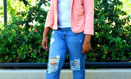 OOTD: Salmon Pink, Business Chic