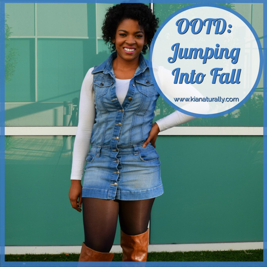 OOTD: Jumping Into Fall - www.kianaturally.com