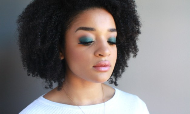 Get That Look: Green Smoky Eye