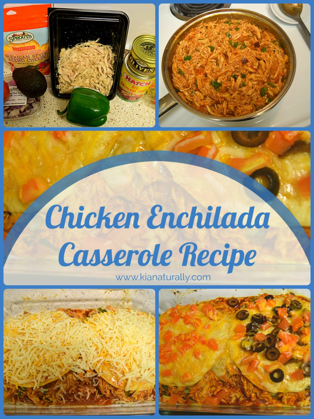 Chicken Enchilada Casserole Pinterest