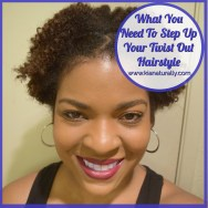 What You Need To Step Up Your Twist Out Hairstyle