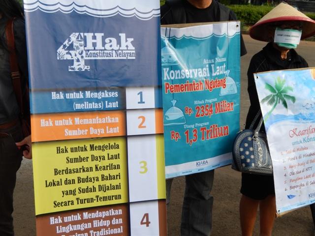 Aktivis Gelar Aksi Diam Di Depan Istana Negara