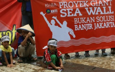 Giant Sea Wall to inflict losses on Jakartans: Groups
