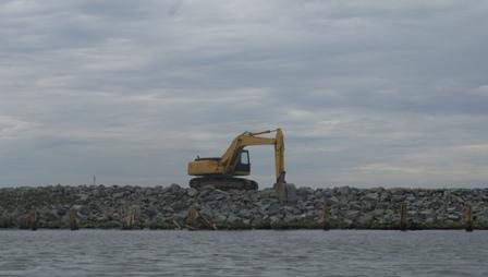 "Hentikan Proyek ""Giant Sea Wall""!"