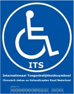 Internationaal Toegankelijkheids Symbool - ITS toegankelijk