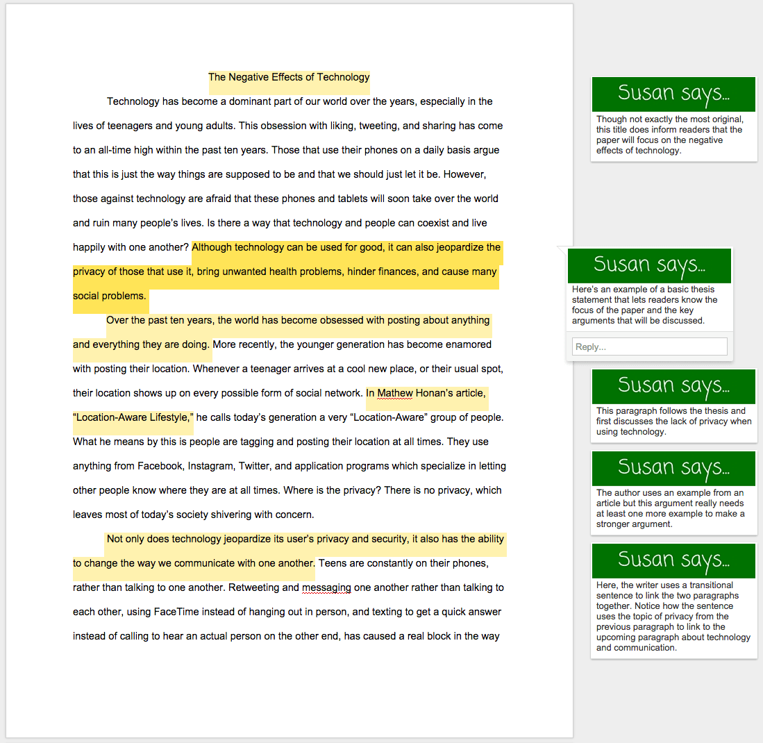 Causes And Effect Essay Example